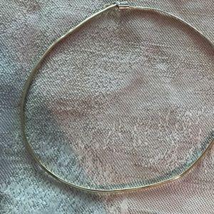 """Vintage Omega 10k 17"""" Necklace 9 grams. 3mm"""